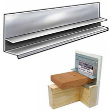 10 ft. EverFlash Deck Ledger Flashing System (Stainless Steel)