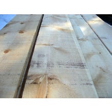 Rough Sawn/Saw Textured Eastern White Pine Wood Siding - Standard Square Edge