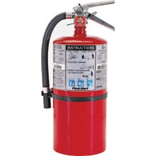 Image 2 of FIRST ALERT PRO10 Rechargeable Fire Extinguisher, Monoammonium Phosphate Extinguish Agent, 10 lb Capacity