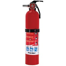 Image 2 of FIRST ALERT HOME1 Fire Extinguisher, Monoammonium Phosphate Extinguish Agent, 2.5 lb Capacity, 1-A:10-B:C Fire Class