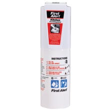 Image 2 of FIRST ALERT KITCHEN5 Fire Extinguisher, Sodium Bicarbonate Extinguish Agent, 1.4 lb Capacity, 5-B:C Fire Class