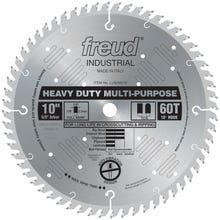Image 2 of Freud LU82M010 Circular Saw Blade, 10 in Dia, Carbide Cutting Edge, 5/8 in Arbor