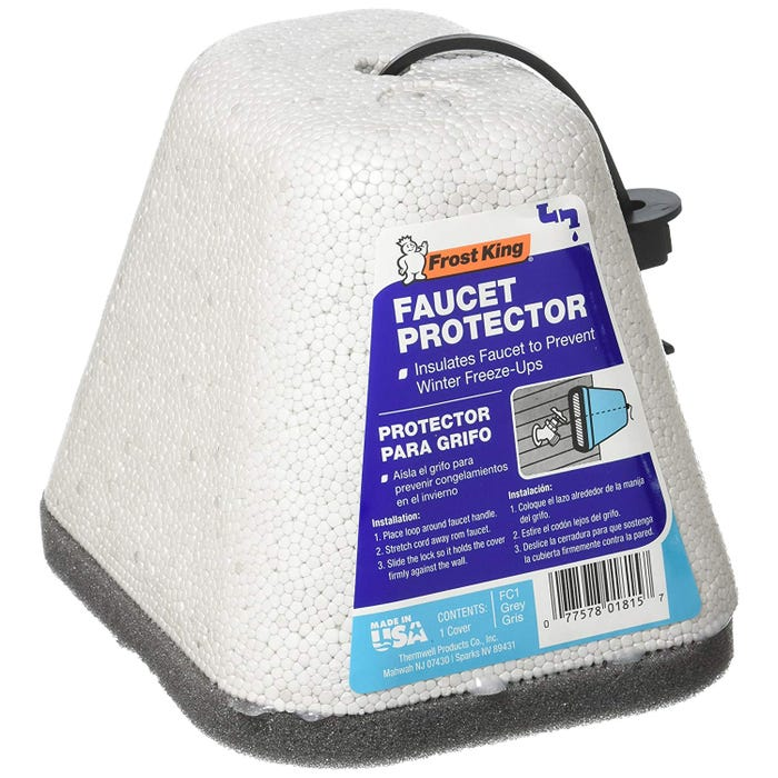 FROST KING WINTER FAUCET PROTECTOR