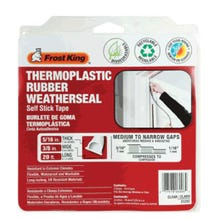 Frost King Thermoplastic Rubber Weatherseal Self-Stick Tape, 20 ft.