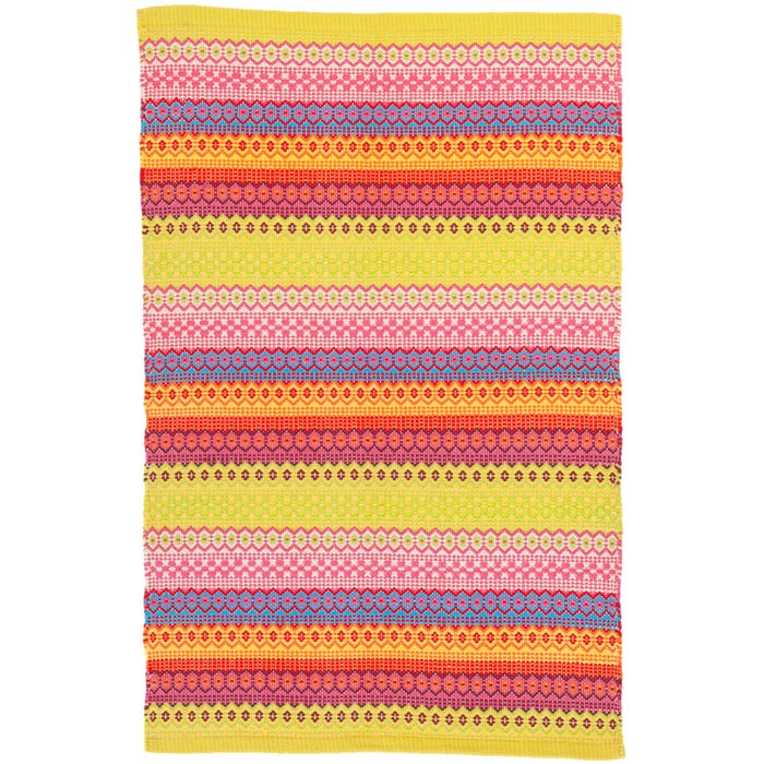 Dash & Albert Fiesta Stripe  Indoor/Outdoor Rug