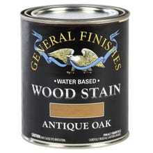 Image 3 of General Finishes Water-Based Wood Stain, Antique Oak, Quart