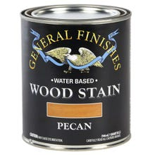 Image 3 of General Finishes Water-Based Wood Stain, Pecan, Quart
