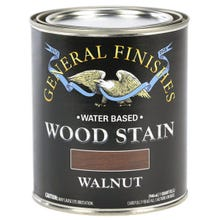 Image 3 of General Finishes Water-Based Wood Stain, Walnut, Quart