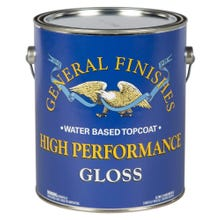 Image 1 of General Finishes High Performance Polyurethane Water-based Topcoat, Gloss, Gallon