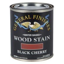 Image 3 of General Finishes Water-Based Wood Stain, Black Cherry, Quart
