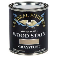 Image 3 of General Finishes Water-Based Wood Stain, Graystone, Quart