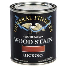 Image 3 of General Finishes Water-Based Wood Stain, Hickory, Quart