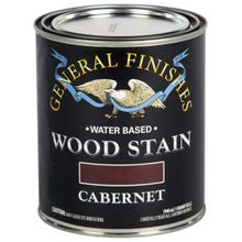 Image 3 of General Finishes Water-Based Wood Stain, Cabernet, Quart