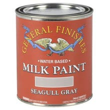 Image 2 of General Finishes Milk Paint, Seagull Gray, Quart