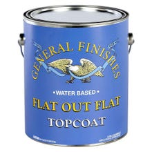 Image 1 of General Finishes Flat Out Flat Water-based Topcoat Gallon