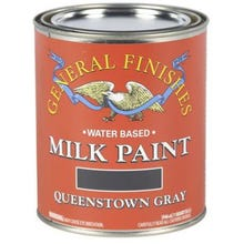 Image 2 of General Finishes Milk Paint, Queenstown Gray, Quart