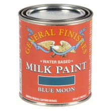 Image 2 of General Finishes Milk Paint, Blue Moon, Quart