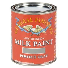 Image 2 of General Finishes Milk Paint, Perfect Gray, Quart