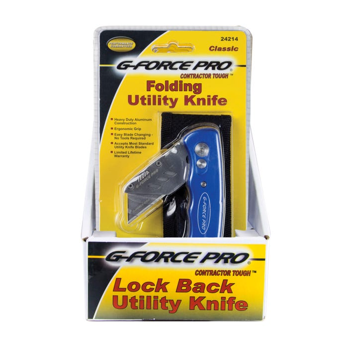 G-FORCE UTILITY KNIFE W/POUCH