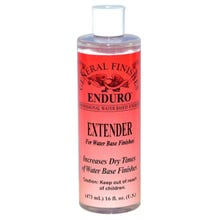 Image 1 of General Finishes Water Clear Enduro Extender, Pint