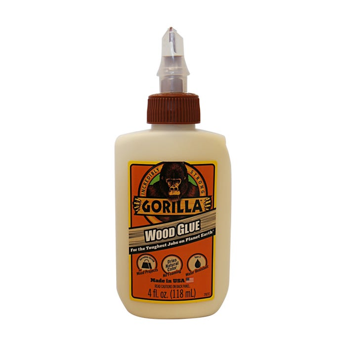 GORILLA WOOD GLUE 4OZ