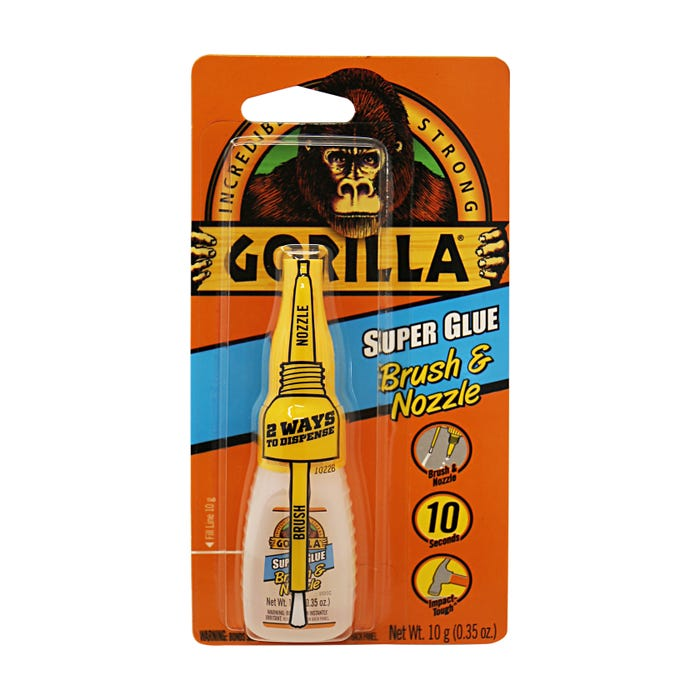 GORILLA SUPER GLUE BRUSH&NOZZLE