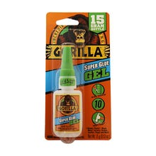 GORILLA Super Glue Gel, 15 Grams