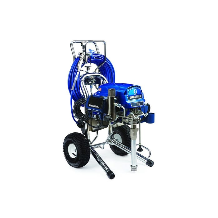 GRACO Ultra Max II 695 ProContractor Series Electric Airless Sprayer, Cart