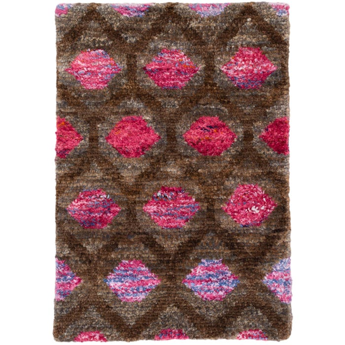 Dash & Albert Gem Hand Knotted Jute/Viscose Rug