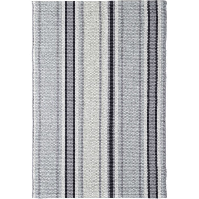 Dash & Albert Greyson Stripe Woven Cotton Rug