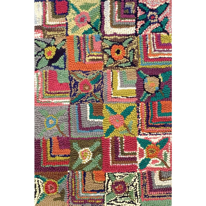 Dash & Albert Gypsy Rose Hooked Cotton Rug