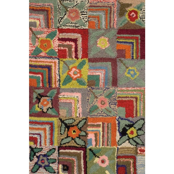 Dash & Albert Gypsy Rose Hooked Wool Rug