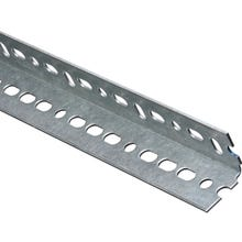 Image 2 of Stanley Hardware 4020BC Series 180083 Slotted Angle, 48 in L, Galvanized Steel