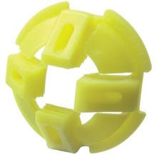 Image 2 of Halex 27519 Push-In Cable Connector, 3/8 in, Nylon