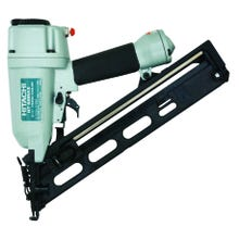 Image 2 of HITACHI NT65MA4 Finish Nailer with Air Duster, 1/4 in Air Inlet, 100 Magazine, Nail Fastener