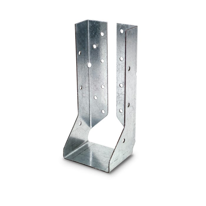 HUCQ Heavy Face-Mount Concealed-Flange Joist Hanger for 4x10 with Screws (HUCQ410)