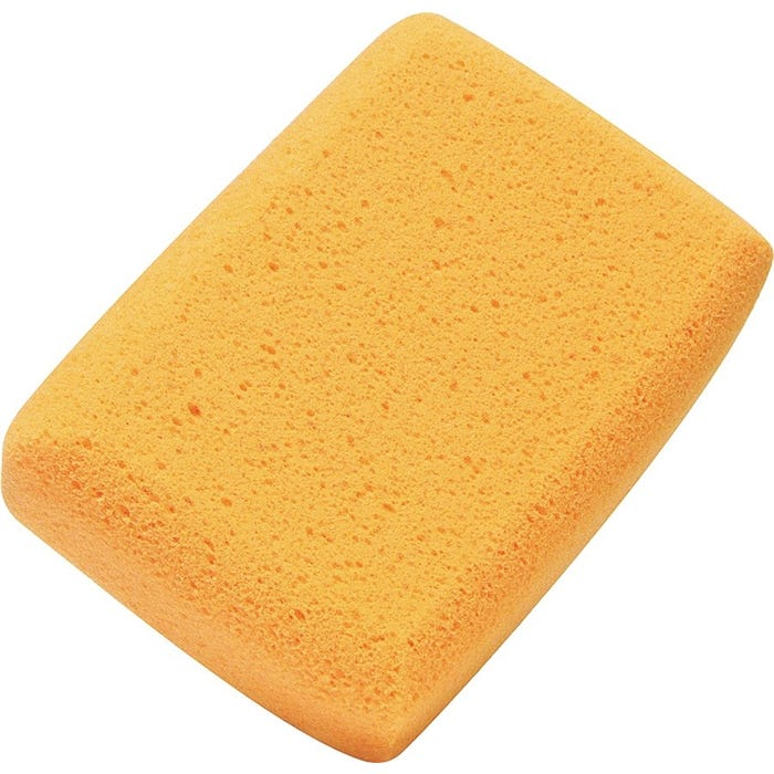 Image 1 of M-D 49152 Tile Cleaning Sponge, 7 in L, 5 in W, Yellow