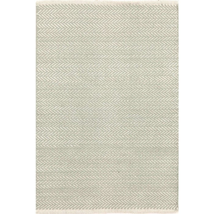 Dash & Albert Herringbone  Woven Cotton Rug