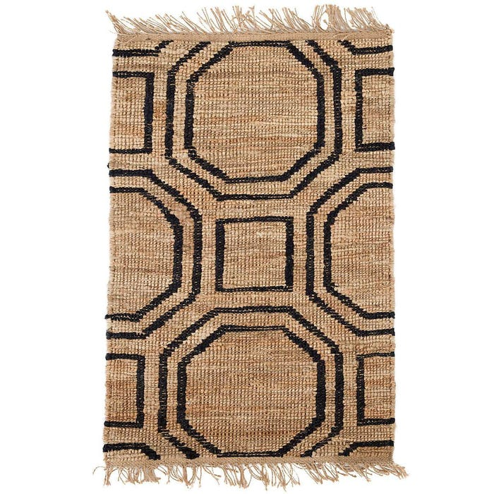 Dash & Albert Hexile Hand Knotted Jute Rug