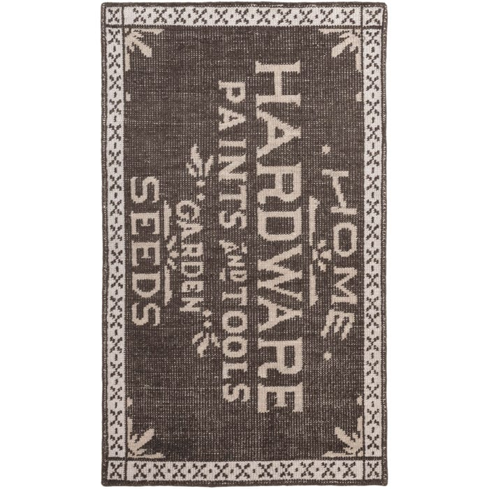 Dash & Albert Home Hardware Hand Knotted Cotton Rug
