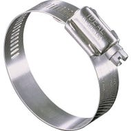 Image 1 of IDEAL-TRIDON Hy-Gear 68-0 Series 6820053 Interlocked Worm Gear Hose Clamp, #20, Stainless Steel