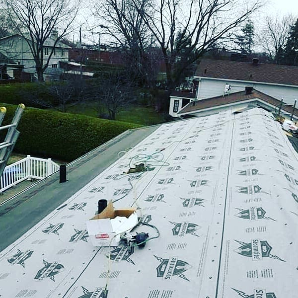 Image 2 of IKO Stormtite Synthetic Underlayment 4' x 250', 1000 sq. ft.