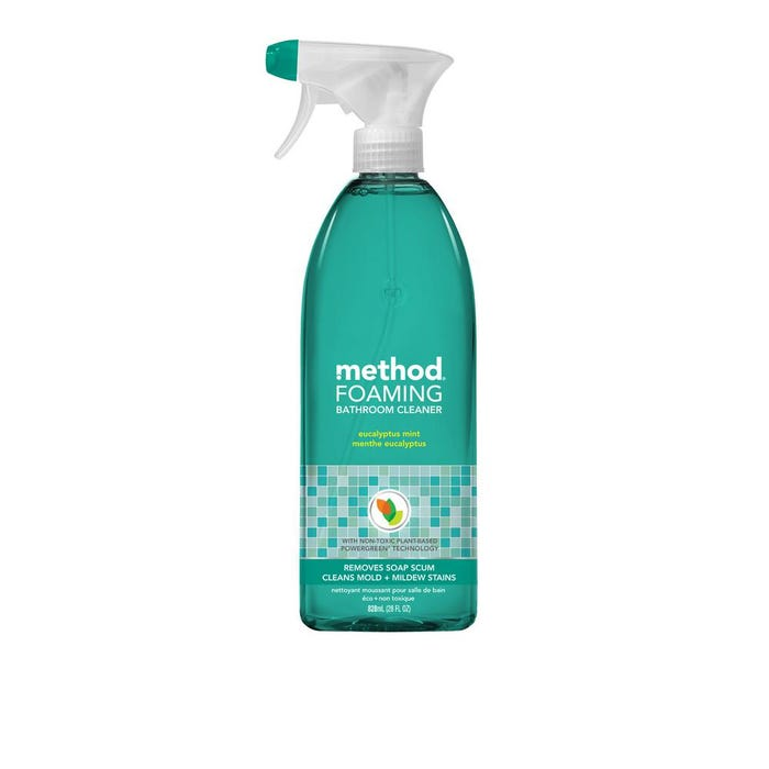 method Foaming Bath Cleaner, Spray, 28 oz.