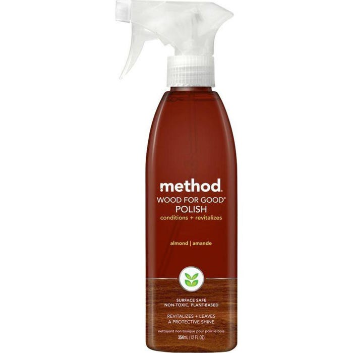 method Wood For Good Polish, Spray, 12 oz.