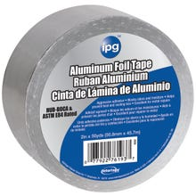Image 2 of IPG 9202-B Foil Tape with Liner, 50 yd L, 2 in W, 1-3/4 mil Thick