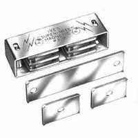 Image 1 of Schlage 327A3 Magnetic Catch, Aluminum, Brass