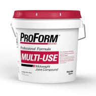 Image 1 of ProForm Multi-Use Joint Compound Mid-Weight, Red Lid, 4.5 gal.