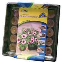 Image 2 of Jiffy J425 Professional Peat Pellet, 11 in L Tray, 11 in W Tray, Peat/Wood Pulp