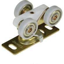 Image 2 of Johnson Hardware 1125PPK1 Ball Bearing, Commercial-Grade Door Hanger, 200 lb Weight Capacity