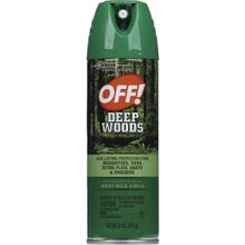 Image 2 of OFF! Deep Woods 01842 Insect Repellent V, 6 oz, Liquid, Clear, Alcohol